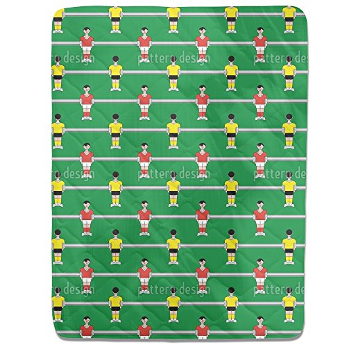 Table Soccer Fitted Sheet: King Luxury Microfiber, Soft, Breathable by uneekee