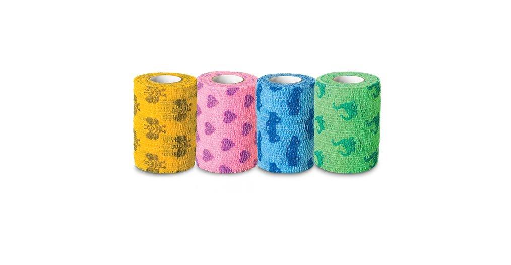 Andover Healthcare 5200KP Coflex Bandage, Kid's Pack, 2'' x 5 yd. Size (Pack of 36) by Andover Healthcare