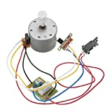 hype turntable - HITSAN DC 12V Turntable Record Player Deck Motor with Switches One Piece