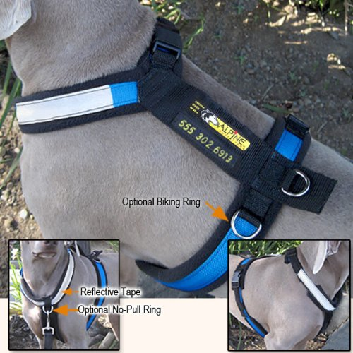 urban-trail-custom-made-padded-dog-harness-no-pull-biking-options
