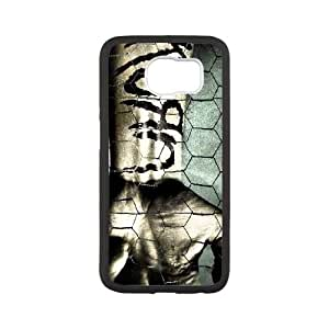 Samsung Galaxy S6 Cell Phone Case Black Korn H3H7IS