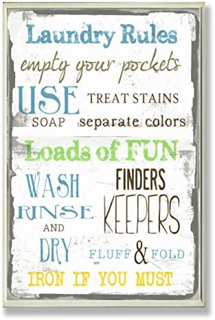 Stupell Home Laundry Typography Bathroom product image