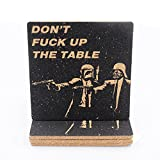 Star War Coaster Set – 4 Coasters for Drinks