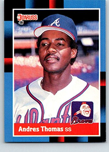 1988 Donruss Baseball (1988 Donruss #627 Andres Thomas Mint Baseball MLB SP Braves)