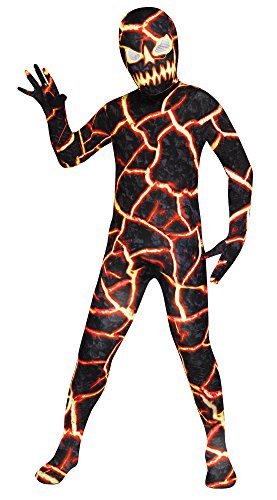 Demon Costumes For Halloween (Fun World Erupto Man Child Costume, Large)