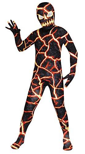 Demon Costumes For Halloween (Fun World Erupto Man Child Costume, Large)