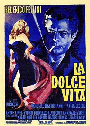 La Dolce Vita Poster Movie Foreign 11x17 Marcello