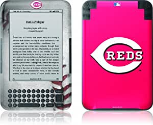 Skinit Kindle Skin (Fits Kindle Keyboard), Cincinnati Reds