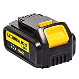 easyDecor Lithium-Ion Rechargeable Battery 20V MAX 5.0Ah for Dewalt DCD/DCF/DCG Series