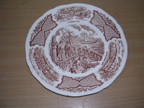 Alfred Meakin Staffordshire Fair Winds Chinese Plate