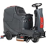 Viper Cleaning Equipment 50000318  AS710R Rider Scrubber, 28'' Cleaning Width, 26 gal, 14'' Brush/Pad Diameter, 37'' Squeegee, Onboard Charger, 245 A/H AGM Batteries