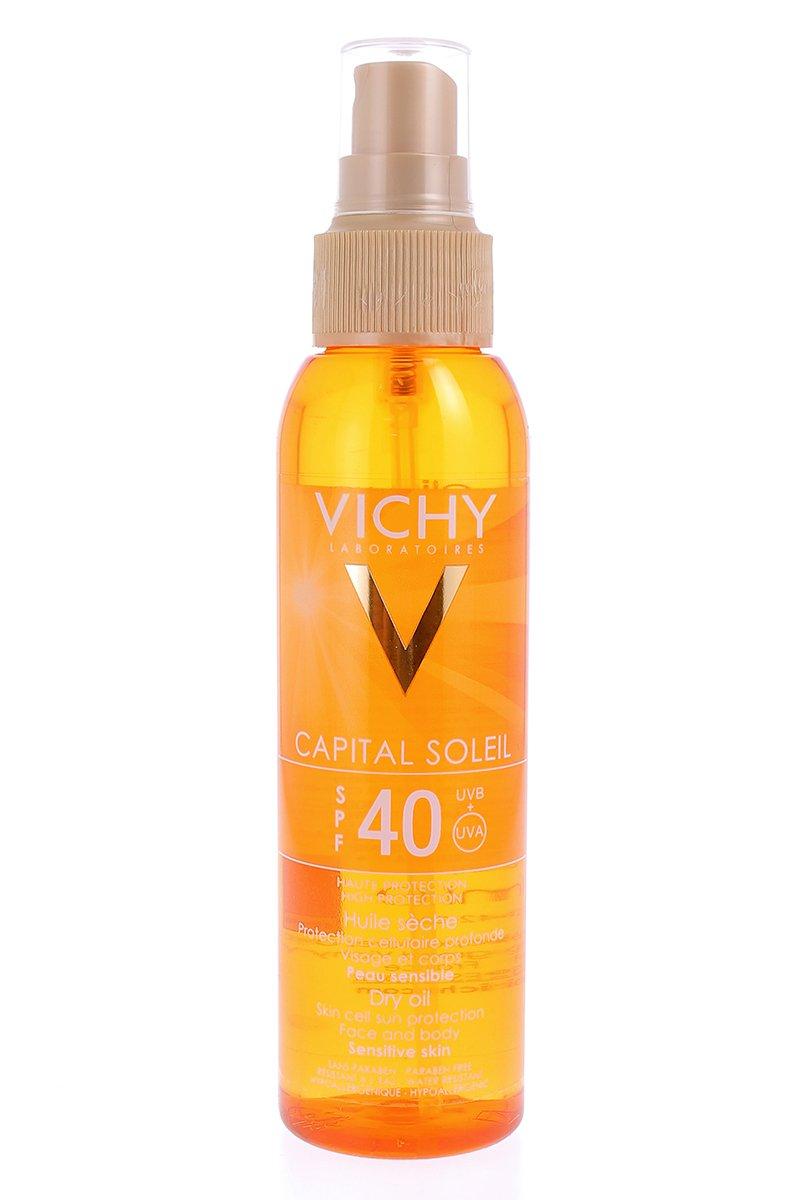 CAPITAL SOLEIL SPF 40 PROTEC CELLA SOLARE olio profondo 125 ML VICHY