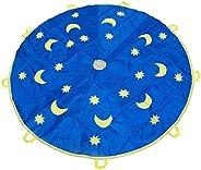 1.8M Children Sports Jump-Sack Parachute Kids, Sun and Moon-Picture Sports Play Ballute Parachute