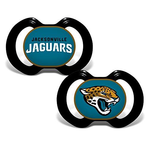 (Baby Fanatic 2 Piece Pacifier Set, Jacksonville Jaguars )