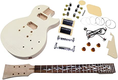 Kit para crear una guitarra estilo Les Paul: Amazon.es ...