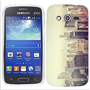 For Samsung Galaxy Avant Vintage City Case Cover