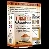Herb Science Turmeric Curcumin, 90 Vegi-caps (Pack of 2) 25 Published Studies, Patented, Clinically Demonstrated