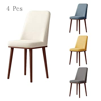 Amazonde Qhxxtxjis Esszimmerstühle 4 Teiliges Set