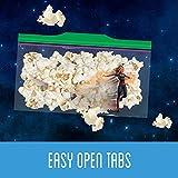 Ziploc Snack Bags, Easy Open Tabs, 66 Count, Pack