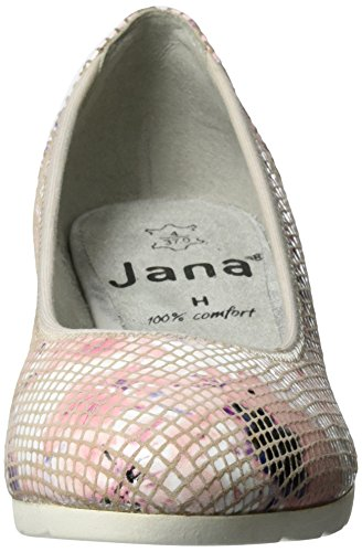 Rose Scarpe Jana Rosa 521 Donna Tacco con 22204 Y1xB1g
