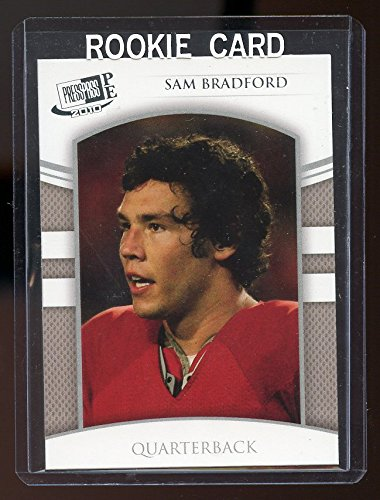 2010 Press Pass #5 Sam Bradford St. Louis Rams Rookie Card - Mint Condition Ships in a Brand New Holder