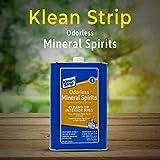 Klean Strip Odorless Mineral Spirits Cleans Brushes