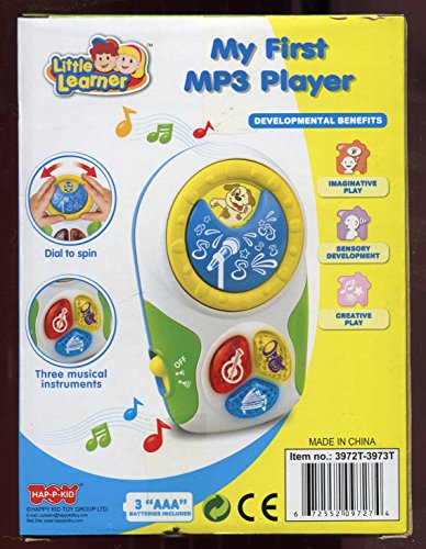 My First Mp3 Player ** Little Learner ** Three Musical Instruments by Little Learner (Image #1)