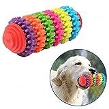 Leililia Chew Toy Rubber Pet Dog Puppy Dental Teething Healthy Teeth Gums Pet Toy Dog Toys