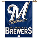 Milwaukee Brewers MLB 27 x 37 Inch Flag