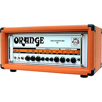 Orange Amplifiers Thunderverb 50 Series TH50HTC 50W Tube Guitar Amp Head Orange