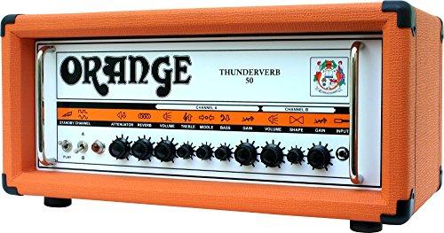 50w Tube Guitar Head (Orange Amplifiers Thunderverb 50 Series TH50HTC 50W Tube Guitar Amp Head Orange)