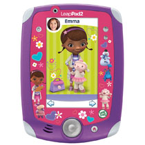Show your Doc McStuffins love with an exclusive, limited edition LeapPad2 Power and 8 custom wallpapers.Insert Alt Text Here