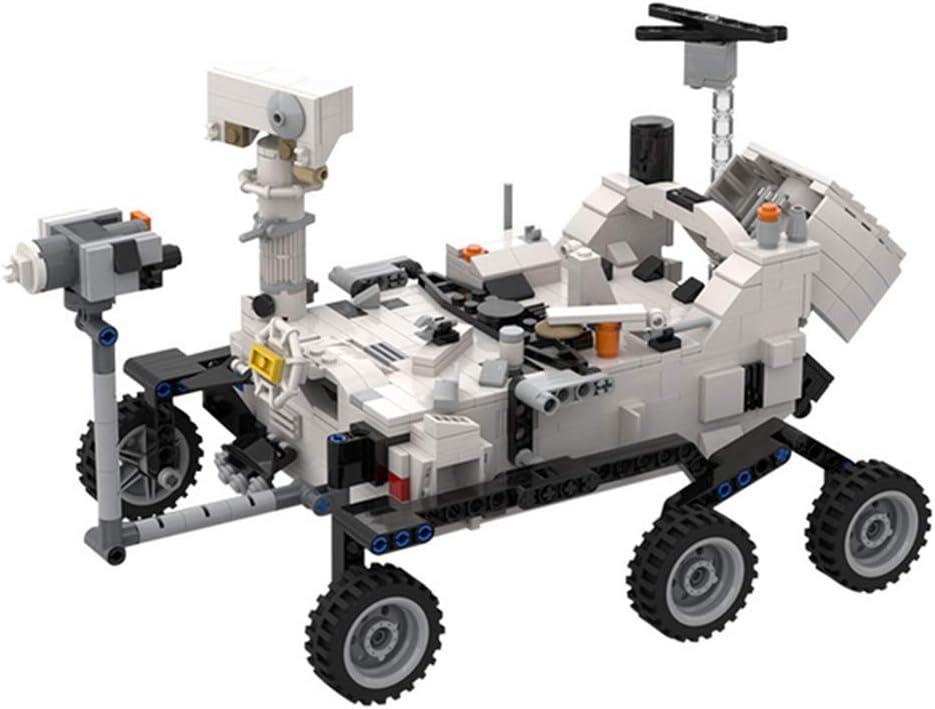 WDLY 661 PCS del Bloque Hueco De La NASA Mars Rover Y Helicóptero Ingenioso, Compatible con Lego, Ladrillos del Juguete