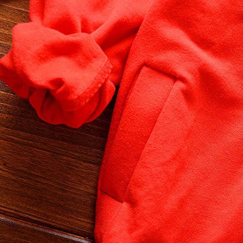 Elegante 1 Invernale Anni Cappotto Morwind Manica Giacca Scarabeo Abiti 2 Ragazze 4 3 Lunga Set Bambina Bambino Bimba Red Camicia Pantaloni Vestiti Ragazzi q5pnvwYvx