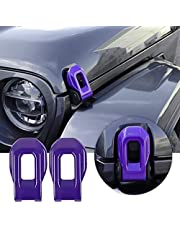 Voodonala for Jeep JL Hood Latches Decor Trim
