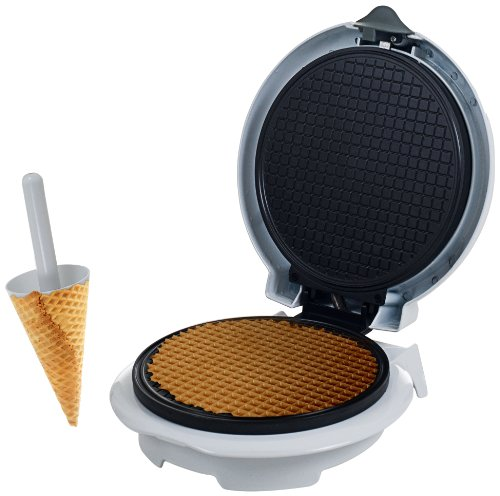 (Chef Buddy 82-MM1234 Waffle Cone Maker with Cone Form)