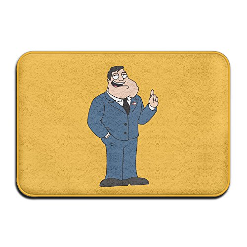 Price comparison product image American Dad Stan Smith Doormat Outdoor 15''x24'' Rectangular Absorbent Non-slip Floor Mats Polyester Rugs For Home/Office/Bedroom