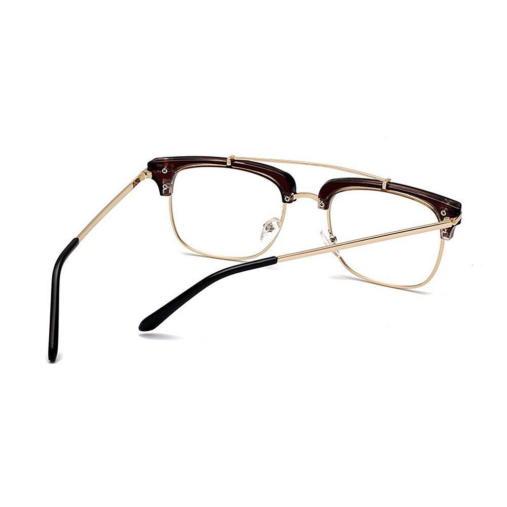 Gafas de de sol sin montura cuadradas UV elegantes para mujeres con ...