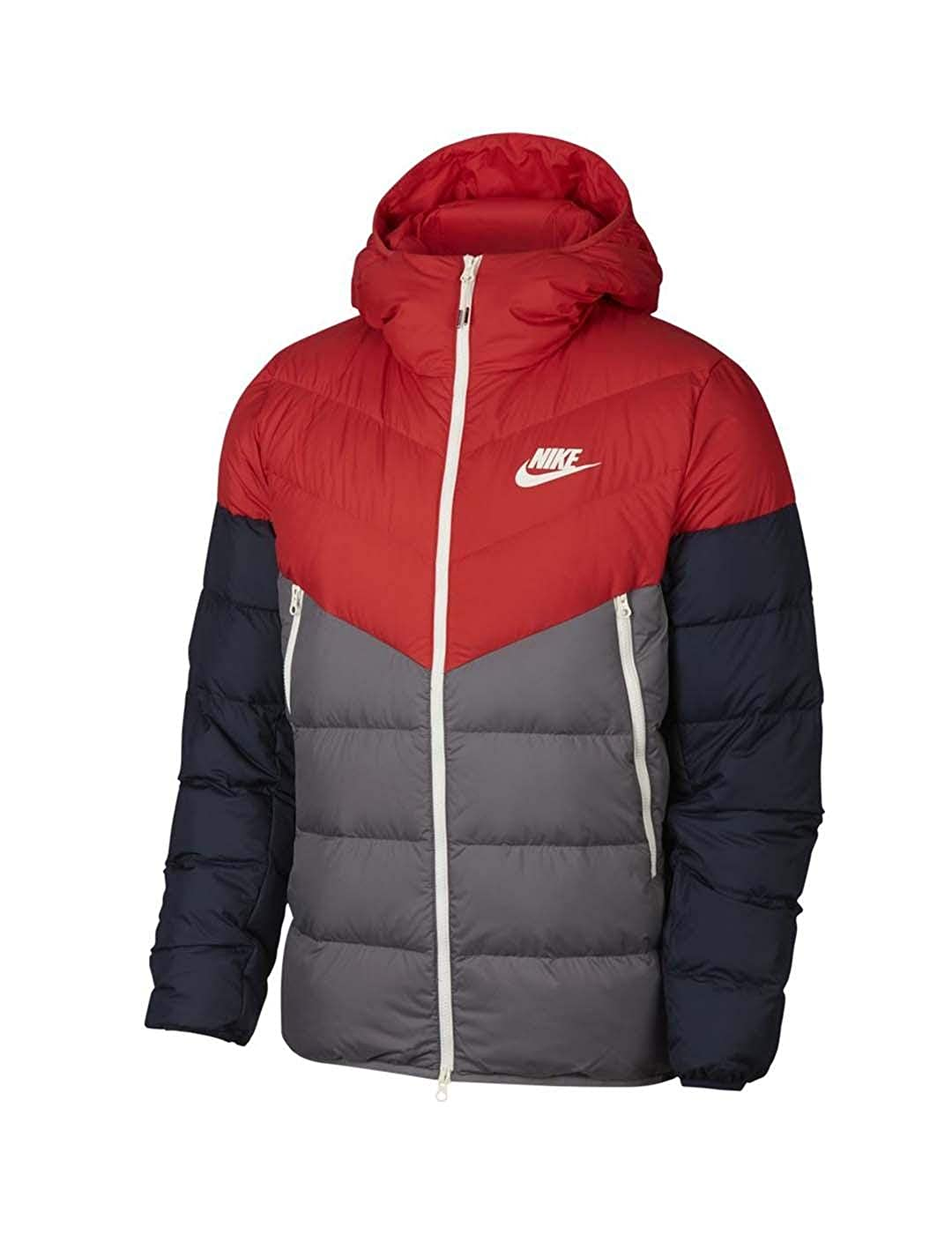 online retailer 47dcb 943b1 Nike Mens M NSW DWN Fill WR JKT HD 928833-634XS - Habanero  REDGunsmokeObsidianSAIL Amazon.co.uk Clothing