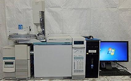 Hewlett Packard Agilent HP 6890 N Gas cromatógrafo con 5973 N MSD: Amazon.es: Amazon.es