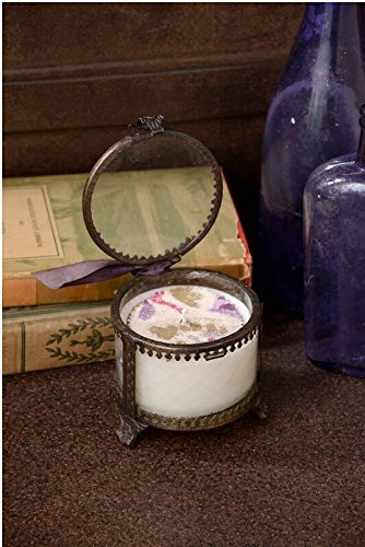 Himalayan Trading Post, Victorian Lidded Jar Candle, Red Currant, 7 oz