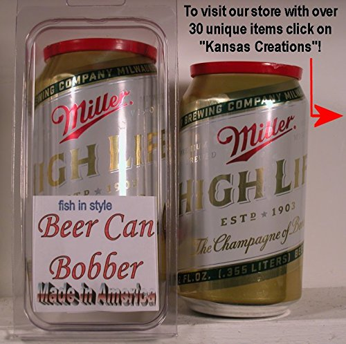 Beer Can Bobber - Fish in Style (Miller High Life)