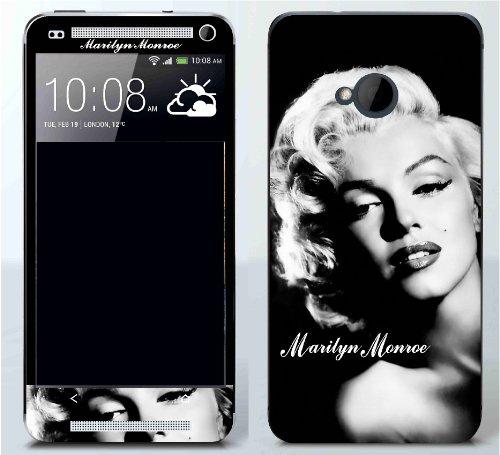 HTC One Marilyn Monroe 1 Protective Vinyl Decal Skin