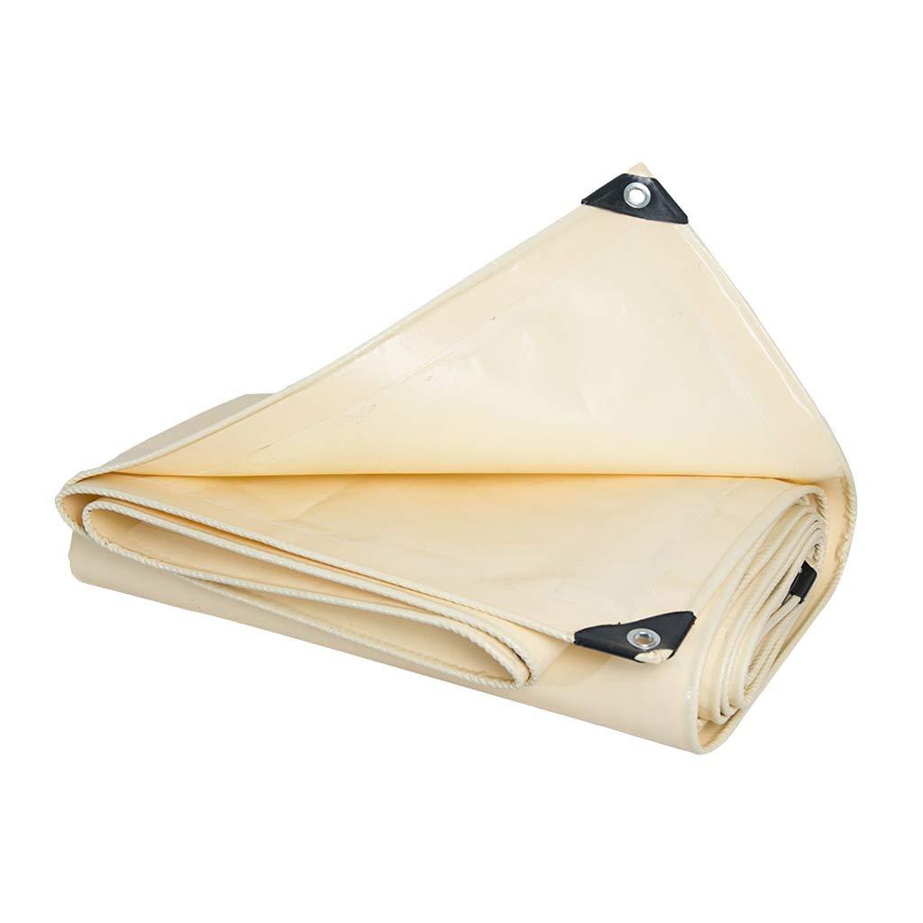 YEIUY Imprägniern Sie verdickendes Zelt der Abdeckung im Freien Sonnenschutzabdeckung Poncho hohe Dichte gesponnenes Gelb, staubdichte Überdachung, Multi-Größe