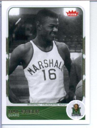 2012 Upper Deck Fleer Retro Basketball Card (2011-12) #8 Hal Greer Mint
