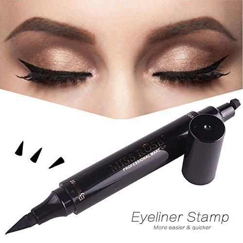 Winged Eyeliner Stamp 3 in 1 - Waterproof, Smudgeproof, Wing