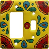 Canary Talavera Toggle-GFI Switch Plate