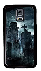Samsung Galaxy S5 Cases & Covers - Lightning Dark City Under PC Custom Soft Case Cover Protector for Samsung Galaxy S5 - Black