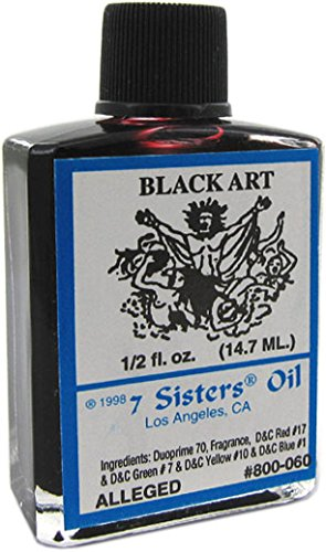 7 Sisters Black Art Oil 1/2 fl. oz.