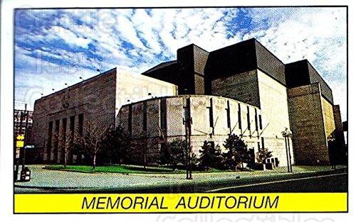 - (CI) Memorial Auditorium Hockey Card 1989-90 Panini Stickers 217 Memorial Auditorium